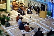 تصاویر/توہین رسالت پر علماء و طلاب ہندوستان قم المقدسہ کا سخت ردّ عمل
