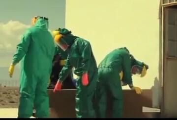 فیلم | تجهیز اموات کرونایی توسط طلاب شهرستان سیرجان