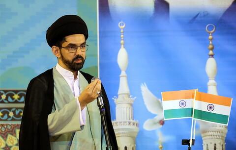 تصاویر/ تجمع اعتراضی طلاب و روحانیون هندی در پی اهانت به ساحت مقدس پیامبر اسلام