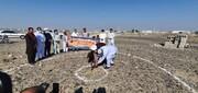 کلنگ احداث مدرسه مرحوم شیخ احمد خسروی در روستای بلک جدید به زمین زده شد+ عکس