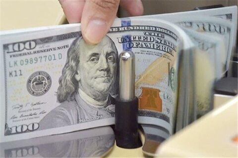 ریزش دلار