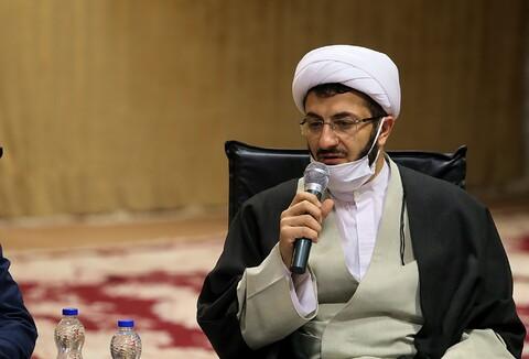 تصاویر/ دیدار مدیر و معاونین حوزه علمیه استان تهران با آیت الله اعرافی