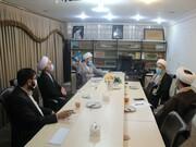 تصاویر/ بیست و پنجمین جلسه شورای هماهنگی نهادهای عالی حوزوی کردستان