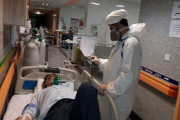 دادن روحیه به بیماران، اصلی ترین کار یک مبلّغ جهادی در این روزهاست