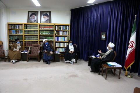 تصاویر/ دیدار نماینده ولی فقیه خوزستان با آیت الله اعرافی