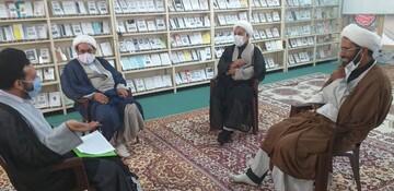 تصاویر / دیدار معاون تهذیب و تبلیغ حوزه اصفهان با مبلغین طرح هجرت
