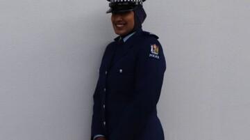 نخستین زن محجبه در اداره پلیس نیوزیلند