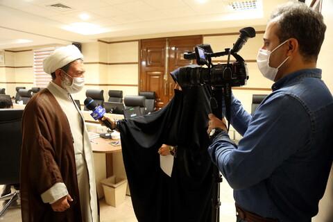 تصاویر/ ویدیو کنفرانس مسئولین ستاد بحران استانها ونمایندگان دفتر اجتماعی سیاسی حوزه