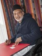 بازمانده حمله به مسجد در نیوزیلند غرفه «صلح و عشق» برگزار کرد