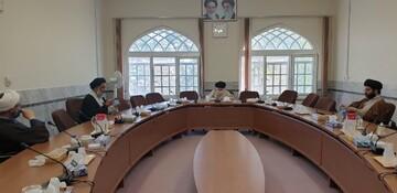 دیدار نماینده ولی فقیه در خوزستان با آیت الله حسینی بوشهری