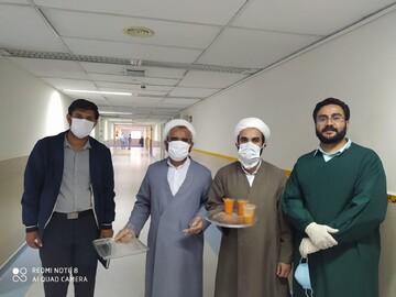 تصاویر شما/ کمکرسانی روحانیون جهادی در بیمارستان شهید صدوقی یزد