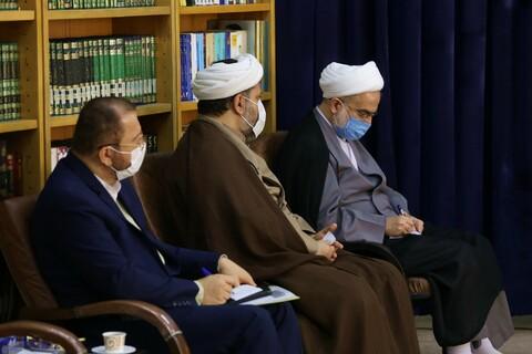 تصاویر/ دیدار نماینده ولی فقیه در استان کردستان با آیت الله اعرافی