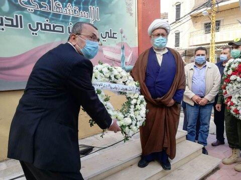 حسن عزّ الدین عضو فراکسیون مقاومت