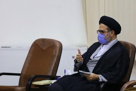 دیدار دیدار رئیس و مسئولان دانشگاه اهلبیت(ع) با آیت الله اعرافی