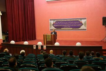 تصاویر / مراسم افتتاحیه اولین دوره مدیریت راهبردی انقلابی در قم