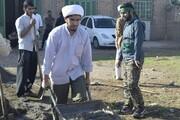 برگزاری اردوی جهادی در منطقه قلعه نصیر شهرستان شوش