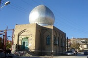 عملیات نماکاری امامزاده عبدالله (ع) شهر یاسوج در حال اجراست