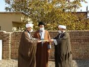 امام جمعه ماکو به دیدار روحانیون روستاها رفت + عکس