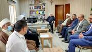 وفد العتبة الحسينية يلتقي بممثلي الطوائف الدينية في الموصل بهدف نشر رسالة التعايش السلمي