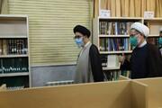 تصاویر / بازدید نماینده ولی فقیه در آذربایجان شرقی از کتابخانه ها و کتاب فروشیهای تبریز