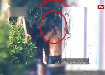 فیلم | سرکرده گروهک تروریستی حرکة النضال: در اغتشاشات آبان عناصر ما به مردم تیراندازی میکردند