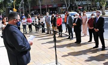 افتتاحیه آیین همدلی بین مسلمانان، مسیحیان و یهودیان در سانخوان آرژانتین
