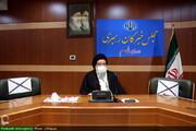 بالصور/ مؤتمر صحفي لآية الله السيد أحمد خاتمي بقم المقدسة