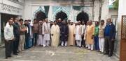 موضع فتن پور ضلع آعظم گڑھ میں مسجد کی تعمیر نو کا سنگ بنیاد +تصاویر