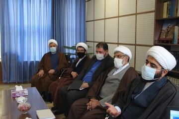 تصاویر/ سفر مسئول رسانه و فضای مجازی حوزههای علمیه به قزوین
