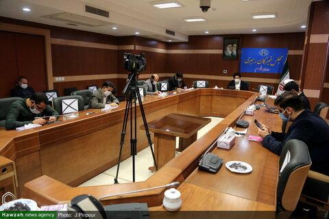 بالصور/ مؤتمر صحفي لآية الله السيد أحمد خاتمي