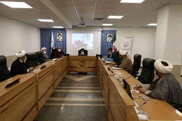 بررسی مشکلات طلاب استان تهران در نشست مجازی با رئیس مرکز خدمات