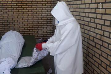 طلبه ای که ۷۰۰ میت کرونایی را غسل داده است