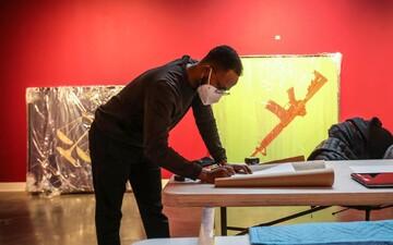 هنرمند مسلمان نمایشگاه «رحمت به بشریت» را در روچستر افتتاح کرد