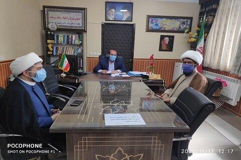 اعلام آمادگی روحانیت اسلام آباد غرب در تجهیز اموات کرونایی با شهردار
