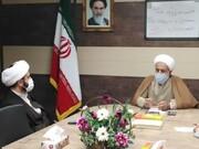 دیدار مدیر مرکز خدمات حوزه چهارمحالوبختیاری با مدیر شورای سیاستگذاری ائمهجمعه استان