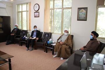 تصاویر/ جلسه هماندیشی شورای نهادهای حوزوی با دانشگاه علوم پزشکی ایلام