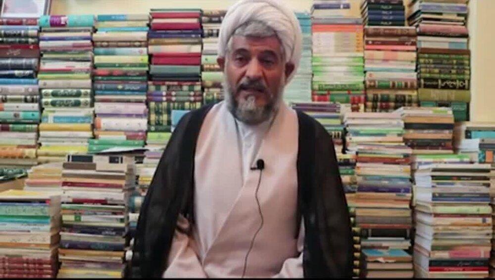 فیلم   اهمیت  کتابخوانی در بیان استاد حوزه فارس
