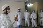 آماده باش ۳۵۰ طلبه جهادگر خوزستانی جهت اعزام به بیمارستان های کرونایی