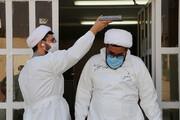 اعزام جهادگران حوزوی به بیمارستان امام خمینی(ره) اهواز