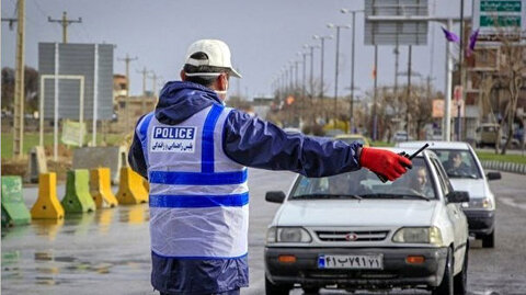 ممنوعیت تردد خودروها در ایام کرونا