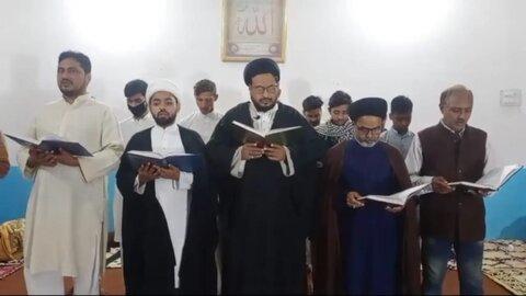 مولانا ڈاکٹر کلب صادق دام ظلہ کی صحت کیلئے دعا کا اہتمام