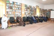 تصاویر / نشست معاونین تهذیب مدارس علمیه استان هرمزگان در بندر لنگه