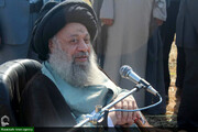 آیت الله موسوی جزایری خطاب به کرگران کشت و صنعت شوشتر : دست تک تک شما را می بوسم