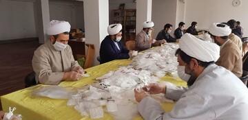 تولید و توزیع بیش از ۲۲ هزار ماسک و بسته معیشتی میان نیازمندان