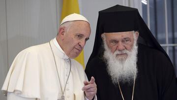 رئیس کلیسای ارتدکس یونان کرونا گرفت