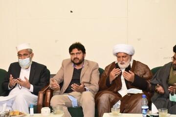 مجلس وحدت مسلمین پاکستان کے وفد کا امیر جماعت اسلامی سراج الحق سے ملاقات، والدہ محترمہ کے انتقال پر اظہار تعزیت