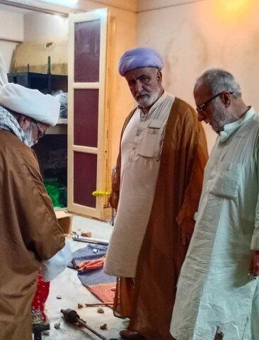 حیدرآباد سندھ، مقدس مقام قدم گاہ حضرت مولا علی (ع) کے تبرکات کی دہشتگردوں کی جانب سے توہین