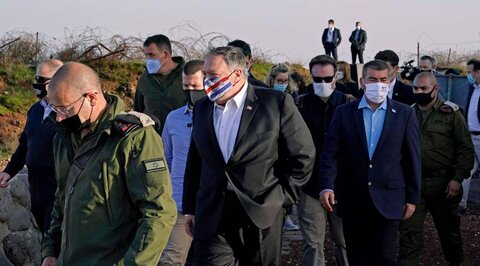 Syria, Arab League condemn Pompeo's visit to occupied West Bank, Golan Heights