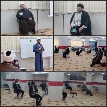 کلاس توجیهی آموزشی طلاب جهادی جهت اعزام به بیمارستانها برگزار شد