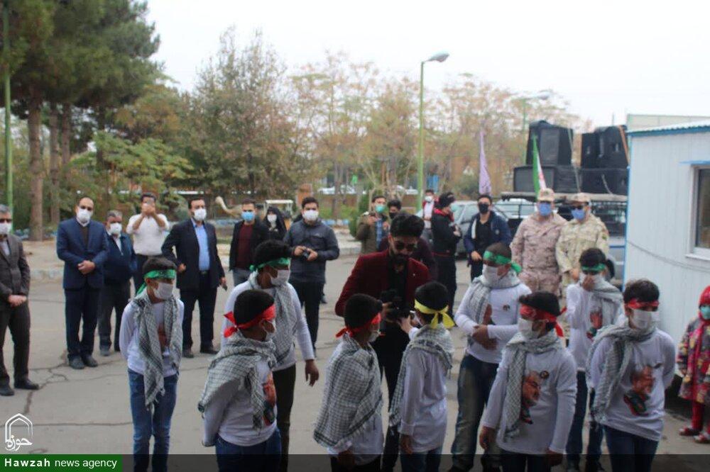 تصاویر/ تجلیل از مدافعان سلامت آران و بیدگل